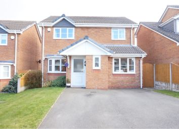 Thumbnail 3 bed detached house for sale in Broughton Heights, Wrexham