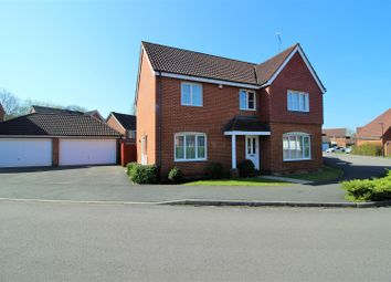 Thumbnail 4 bedroom detached house for sale in Wynwards Road, Abbey Meads, Swindon