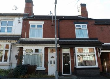 Thumbnail 3 bed terraced house for sale in Frederick Street, Burton-On-Trent, Staffordshire