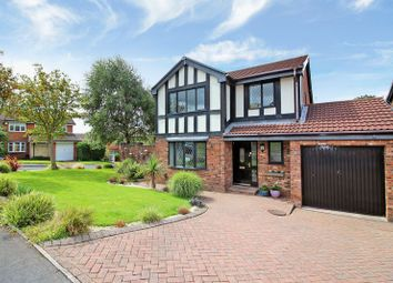 Thumbnail 4 bed detached house for sale in Brockenhurst Drive, Harwood, Bolton
