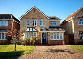 Thumbnail 4 bedroom detached house to rent in Turnbridge Court, Swavesey, Cambridge
