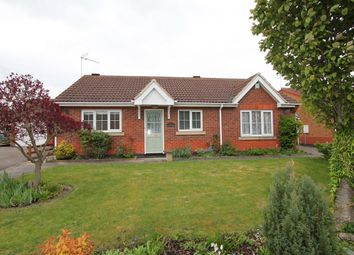Thumbnail 3 bed detached bungalow for sale in Bramble Close, Glenfield, Leicester