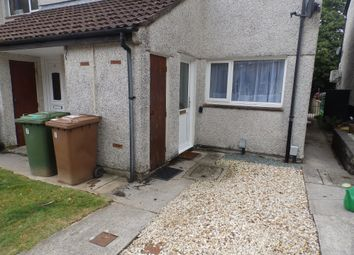 Thumbnail 1 bed flat to rent in Lavington Close, Plympton, Plymouth