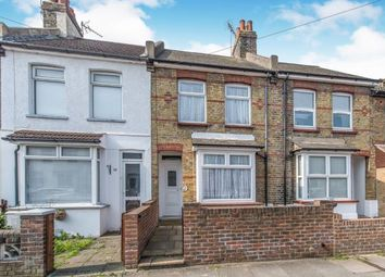 Thumbnail 3 bedroom terraced house for sale in Churchill Road, Gravesend, Kent, England