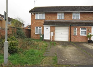 Thumbnail 3 bedroom semi-detached house for sale in Petersham Close, Newport Pagnell