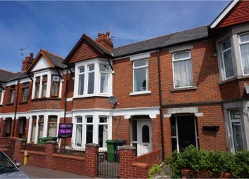 Thumbnail 3 bed terraced house for sale in Corporation Road, Cardiff Bay