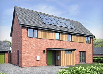 Thumbnail 4 bedroom detached house for sale in Norwich Road, Hingham, Norwich