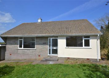 Thumbnail 3 bed detached bungalow to rent in Pengelly, Callington, Cornwall