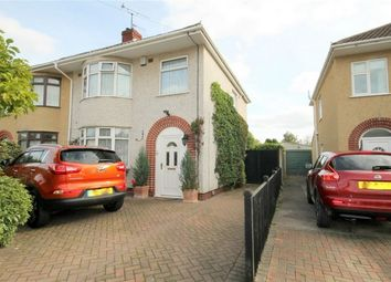 Thumbnail 3 bed semi-detached house for sale in Bromley Drive, Downend, Bristol