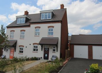 Thumbnail 3 bed town house for sale in Burton Road, Ashby-De-La-Zouch