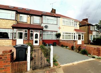 Thumbnail 3 bed terraced house to rent in Hadley Gardens, Southall, Greater London