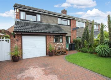 Thumbnail 3 bed semi-detached house for sale in Mendip Close, Garforth, Leeds