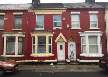Thumbnail 3 bed terraced house for sale in 58 Halsbury Road, Kensington, Liverpool