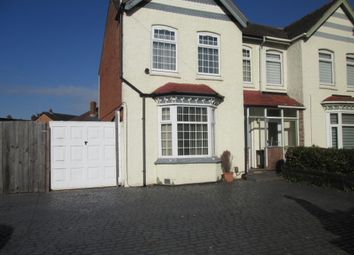 Thumbnail 3 bed semi-detached house to rent in Baldwins Lane, Hall Green, Birmingham