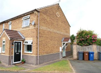 Thumbnail 1 bed end terrace house for sale in Fairway, Branston, Burton-On-Trent, Staffordshire