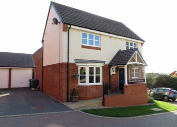 Thumbnail 4 bedroom detached house for sale in Hawthorn Close, Rugby