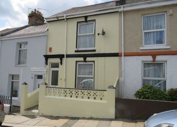 Thumbnail 2 bed terraced house for sale in Alfred Road, Plymouth