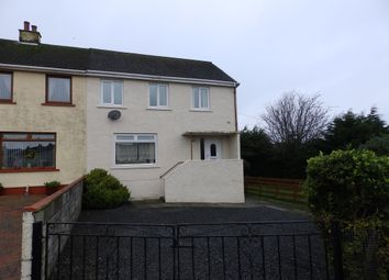 Thumbnail 3 bed semi-detached house for sale in Whitson Avenue, Stranraer