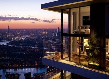 Thumbnail 2 bed flat for sale in Wardian, East Tower, Canary Wharf