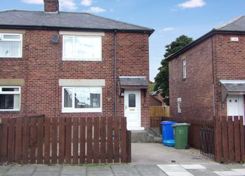 Thumbnail 2 bed semi-detached house for sale in Scott Avenue, Nelson Village, Cramlington
