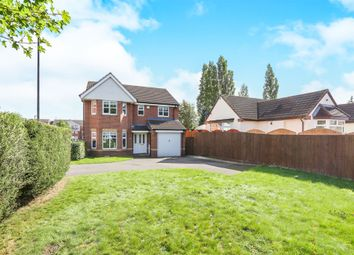 Thumbnail 4 bed detached house for sale in Century Drive, Willenhall