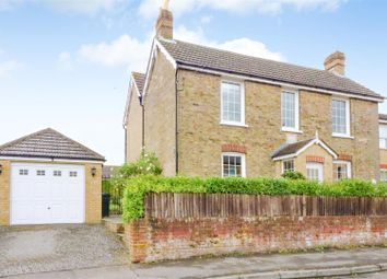 Thumbnail 3 bed detached house for sale in Sandwich Road, Eythorne, Dover