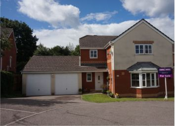 Thumbnail 4 bed detached house for sale in Heather Court, Treharris