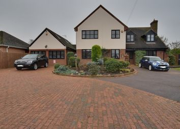 Thumbnail 6 bedroom detached house for sale in High Street, Dunton, Biggleswade, Bedfordshire