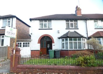 Thumbnail 3 bed semi-detached house for sale in Lichfield Drive, Prestwich, Manchester