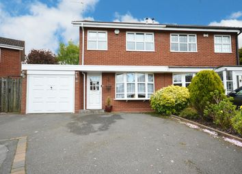 Thumbnail 3 bed semi-detached house for sale in Corley Close, Shirley, Solihull