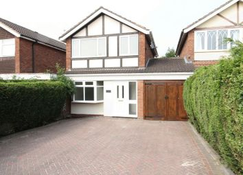 Thumbnail 3 bed detached house for sale in Kielder Close, Cannock