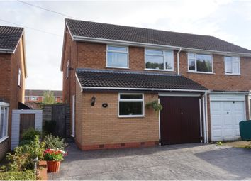 Thumbnail 3 bed semi-detached house for sale in Martin Close, Bromsgrove
