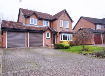 Thumbnail 4 bed detached house for sale in Riverside Gardens, Peterborough