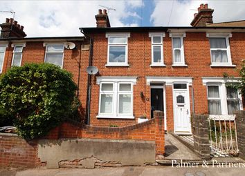 Thumbnail 2 bed terraced house for sale in Gladstone Road, Ipswich