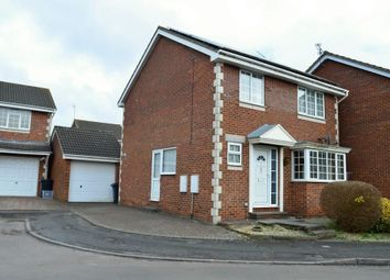 Thumbnail 4 bed detached house for sale in Crispin Close, Stratton, Swindon