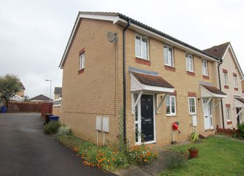 Thumbnail 2 bed terraced house for sale in Crispin Close, Haverhill
