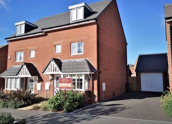 Pulla Hill Drive, Storrington, Pulborough RH20. 4 bed semi-detached house