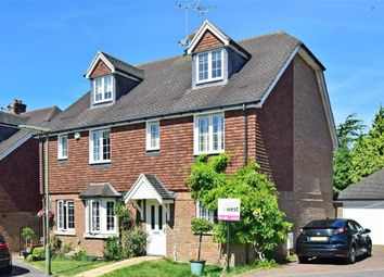 Thumbnail 4 bed town house for sale in Rowan Close, Banstead, Surrey