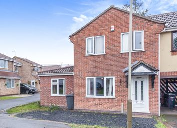 Thumbnail Semi-detached house for sale in Yarrow Close, Hamilton, Leicester