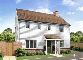 "Thumbnail 3 bed detached house for sale in ""The Clayton Corner"" at Rattle Road, Stone Cross, Pevensey"