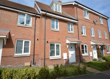 Thumbnail 3 bed town house for sale in Dunnock Drive, Queens Hills, Costessey, Norwich