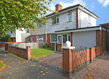 Thumbnail 3 bed semi-detached house for sale in Townsend Road, Town Centre, Rugby, Warwickshire