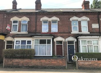 Thumbnail 3 bed terraced house for sale in Teignmouth Road, Birmingham, West Midlands.