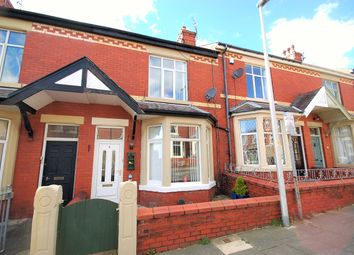Thumbnail 3 bed terraced house for sale in Poplar Avenue, Blackpool, Lancashire