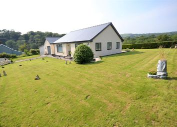 Thumbnail 3 bed detached bungalow for sale in Hebron, Whitland