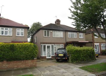 Thumbnail 3 bed semi-detached house for sale in Islip Manor Road, Northolt