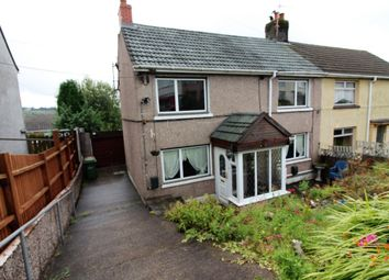 Thumbnail 3 bed semi-detached house for sale in Fflorens Road, Newbridge, Newport