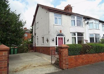 Thumbnail 3 bed semi-detached house for sale in Winckley Road, Broadgate, Preston