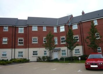 Thumbnail 2 bed flat to rent in Furlong Close, Barkby Road, Syston, Leicester