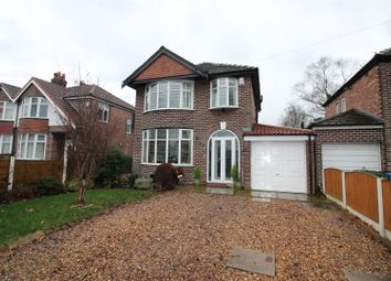 Thumbnail 4 bed detached house for sale in Lostock Road, Urmston, Manchester